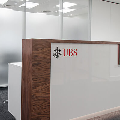 UBS, mac-interiors, commercial fit out, office upgrade, landlord refurbishment, interior construction, #teamMAC