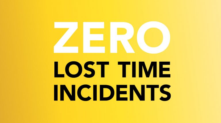 mac-interiors, LTI's, Zero, AED's, all employees. defibrillators, health and safety, project timing