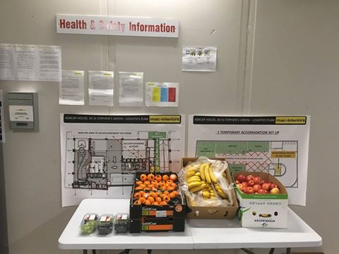 mac interiors, Healthy, happy, nutrition, employees, free fruit, mac interiors, five a day