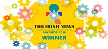 Winners of the Irish News' 'Employer of the Future' Award