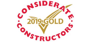 Gold Considerate Constructors Award 2019
