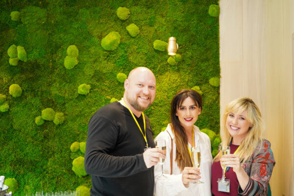 Stephen Hayes, Becky Russell, Roisin Lafferty of Kingston Lafferty Design