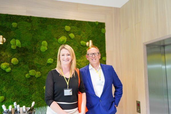 Louise Dwyer and Andrew McCracken JLL