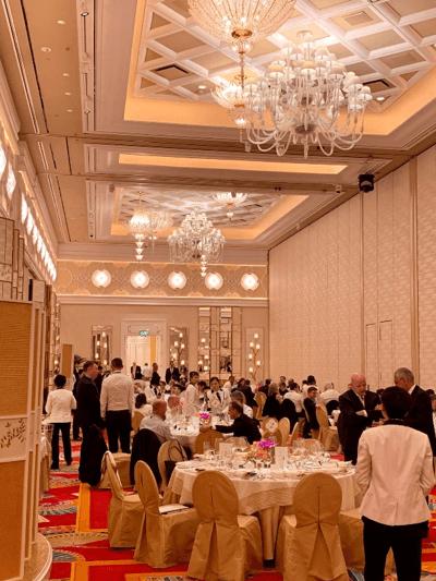 Dinner at Wynn Palace, Macau.