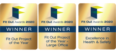 Fit out winning logos